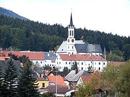 Vyšebrodský klášter, dominanta města