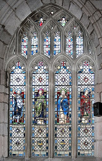 Hugh Arnold - Church of the Holy Cross, Crediton window
