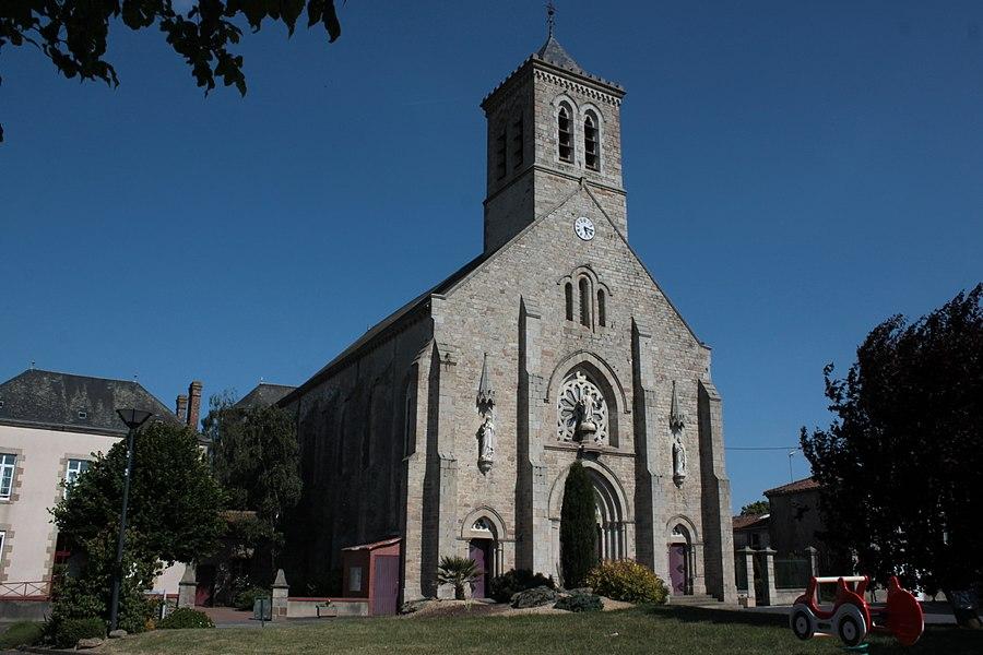 Église Saint-Pierre, 1863, Fr-49-Roussay.