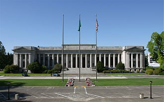 Washington Supreme Court - Image: WA Capitol Temple Of Justice