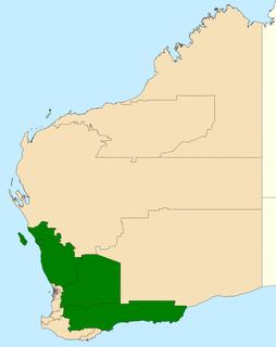 Electoral region of Agricultural Electoral region of Western Australia