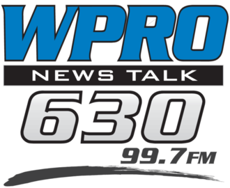 WPRO (AM) - Image: WPRO (AM)&WEAN FM logo