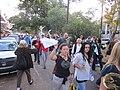 WWOZ 30th Birthday Parade Esplanade Avenue Kerchiefs.JPG