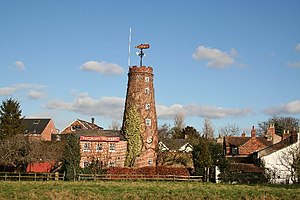 Wainfleet, Lincolnshire - Image: Wainfleet, Salem Bridge Mill