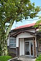 Wakasa Railway head office entry 20140905.jpg