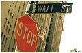 Wall Street Sign - with Stop Sign - Circa 2000.jpg