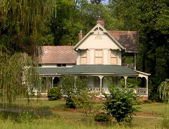 Walland, Tennessee - The home of James Martin in Walland, built early 1900s