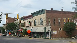 National Register of Historic Places listings in Jennings County, Indiana - Image: Walnut at Jackson in North Vernon