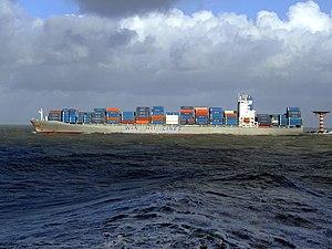 Wan Hai 503 p2, leaving Port of Rotterdam, Holland 21-Jan-2007.jpg