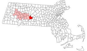 Ware, Massachusetts - Image: Ware ma highlight