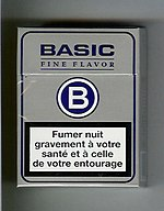 Warning on the French Cigarette Pack