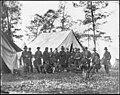 Warrenton, Va. Gen. Ambrose E. Burnside and staff LOC cwpb.03789.jpg
