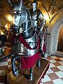 Warwick castle horseman.JPG