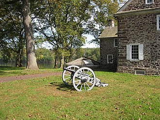 Battle of Trenton - Cannon at Washington's Crossing Historic Park