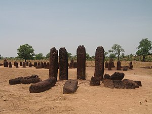 "The Gambia - Senegambian stone circles (megaliths) which run from Senegal through the Gambia and which are described by UNESCO as ""the largest concentration of stone circles seen anywhere in the world""."