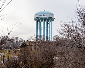 Water Tower in Green Tree, Pennsylvania.jpg