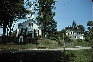 Waterloo Village, New Jersey - Image: Waterloo Methodist Church
