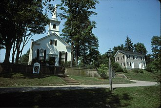 Waterloo Village, New Jersey - Image: Waterloo Methodist Church