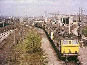 Wath marshalling yard - Wath Railway Depot and Yards