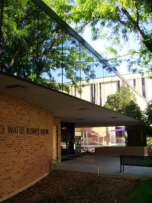 John B. Goddard School of Business & Economics - Image: Wattis Business Building