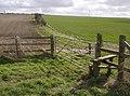 Wayfarer's Walk on Stubbington Down - geograph.org.uk - 361158.jpg