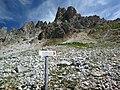Wegweiser zum Klettersteig Kl Cirspitze.JPG