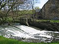 Weir on River Amber - geograph.org.uk - 153587.jpg