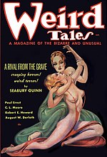Weird Tales cover image for January 1936