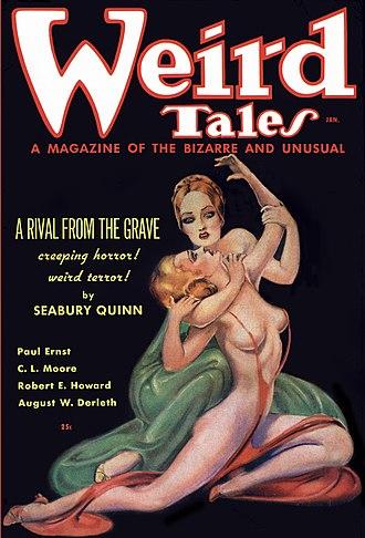 Weird Tales January 1936