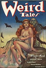 Weird Tales cover image for January 1938