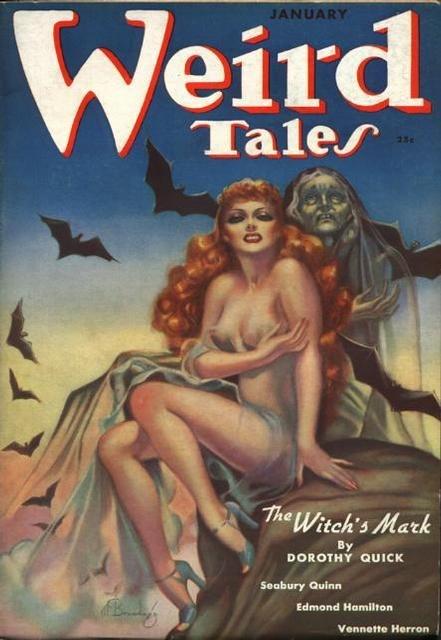 Weird Tales January 1938