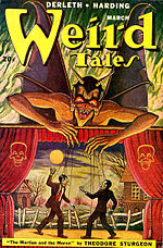 Weird Tales cover image for March 1949