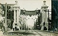 Welcome Arch for the Alaska Yukon Pacific Exposition on 2nd Ave and Marion St, Seattle, 1909 (AYP 1315).jpg