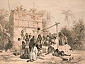 Well and Building at Sabactsche Yucatan by F Catherwood B.jpg