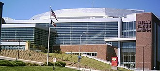 Wells Fargo Arena (Des Moines, Iowa) - Image: Wellsfargoarena