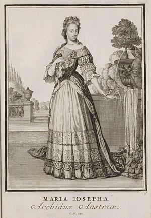 Archduchess Maria Josepha of Austria (1687–1703) - Image: Welt Galleria T009