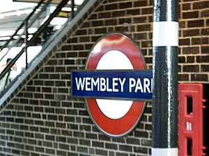 Watkin's Tower - Wembley Park station, originally opened to bring visitors to Watkin's Tower