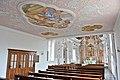 Wernberg Kloster Kirche Orgelempore Deckenfresko 14112014 945.jpg