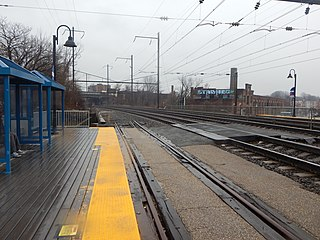 West Baltimore station