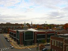 West Lafayette, Indiana Public Library and urban spread, Autumn.jpg