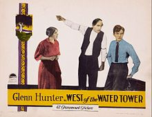 West of the Water Tower lobby card.jpg