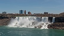 West view of the American Falls as seen from Ontario 20170418 1.jpg