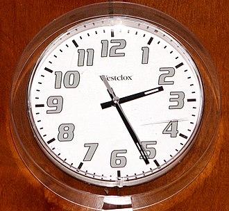 Westclox - Modern Westclox wall clock