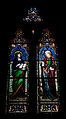 Wexford Church of the Immaculate Conception South Aisle Window Saints Anne and Catherine 2010 09 29.jpg