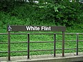 White Flint Platform Sign.JPG