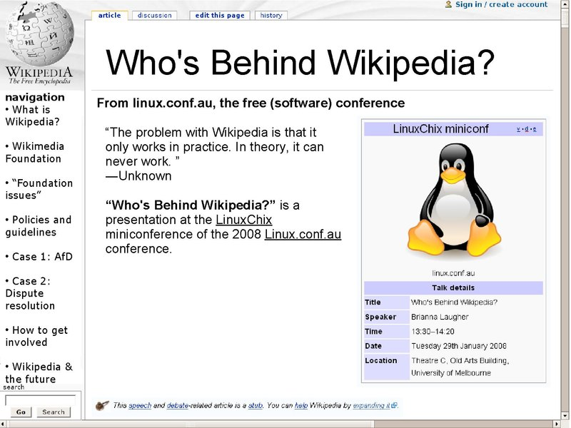 File:Who's Behind Wikipedia? slides Brianna Laugher.pdf