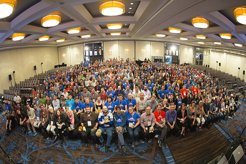 File:Wikimania 2017 Closing Ceremony Group Photo-1.jpg