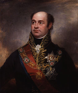 William Beresford, I visconte Beresford, in un ritratto d'epoca di Sir William Beechey