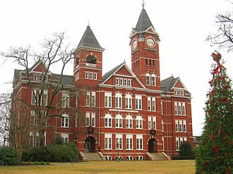 National Register of Historic Places listings in Alabama - William J. Samford Hall in the Auburn University Historic District