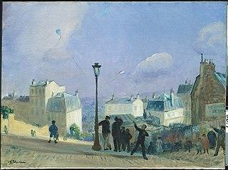 Flying Kites, Montmartre